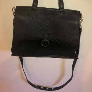 Rebecca Minkoff Keith Suede and Leather Satchel